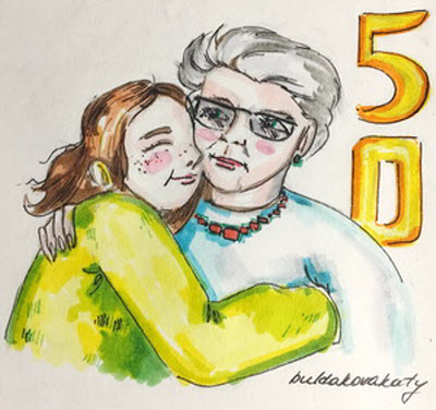 Поздравления с юбилеем 50 лет женщине в стихах