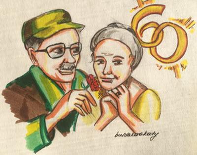 Поздравления с юбилеем 60 лет женщине в стихах